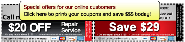 Our service coupon in Auburn